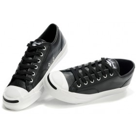 leather converse womens