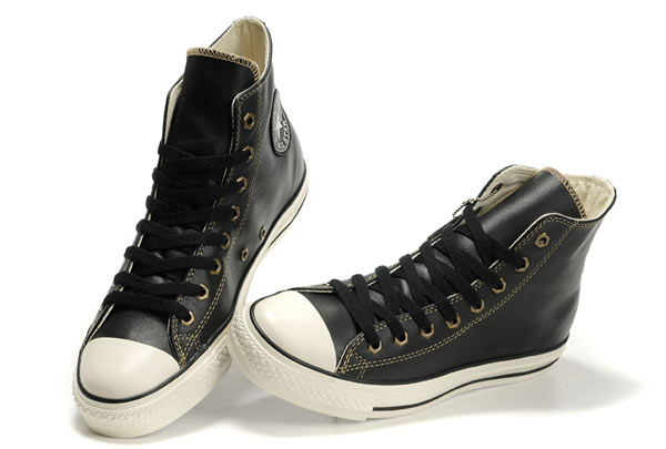 converse leather high tops