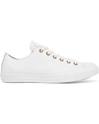 womens white leather converse