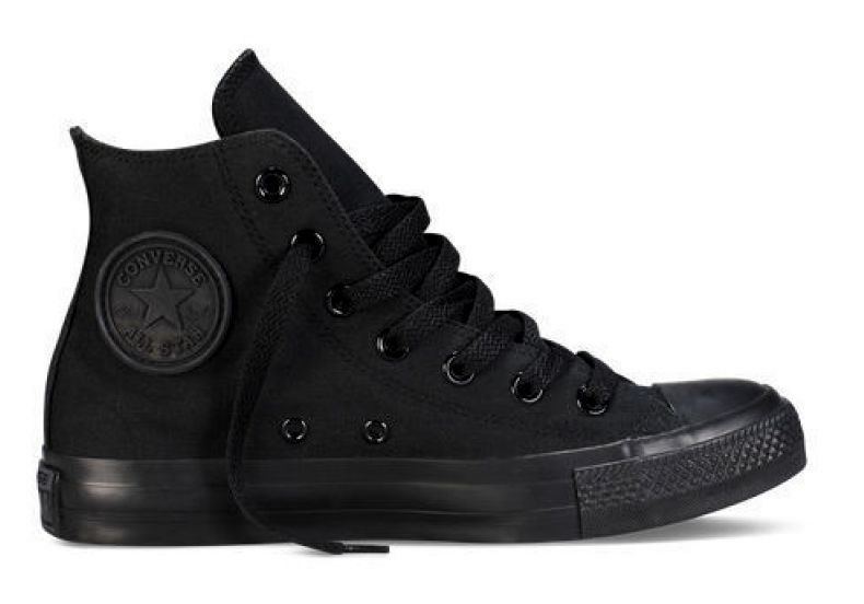 black high top converse womens