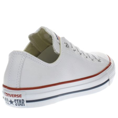 ladies white converse