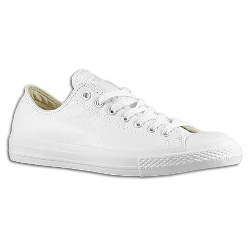 mens white leather converse