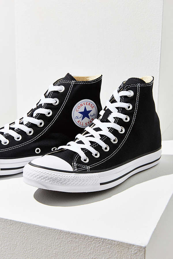 black high top converse